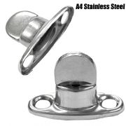 10x 8mm A4 Stainless Steel Marine Common Sense Turnbutton Canopy Canvas Cover